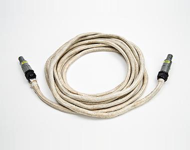 Induktor luftgekühlt Kabel weiss