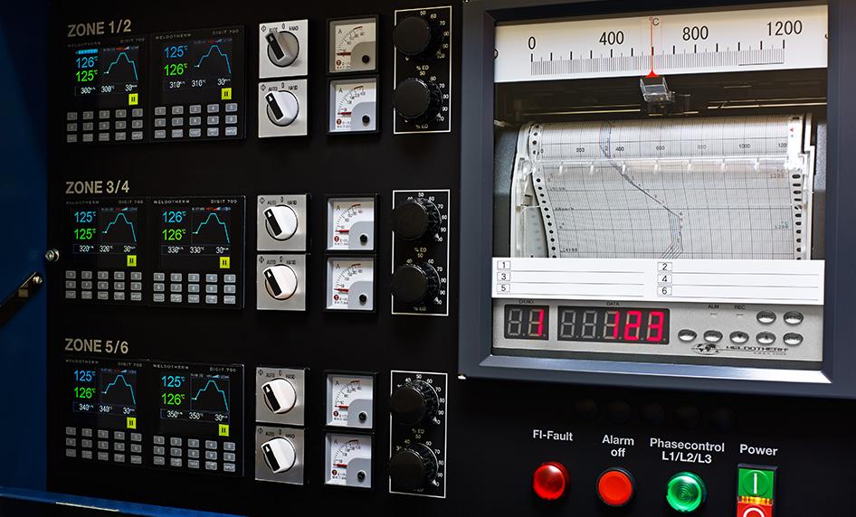 Controle de programas DIGIT 700