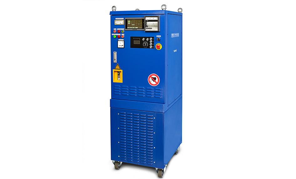 Unidade de tratamento térmico por indução VAI